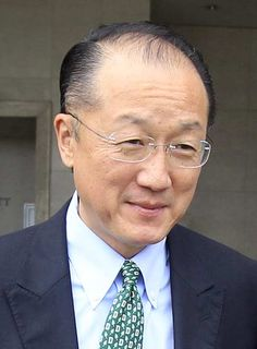 New World Bank President Jim Yong Kim leaves a hotel in Lima, April 16, 2012.