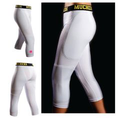 """Muchera Sliding Pants, the newest innovation in baseball and softball sliding gear! This All-in-One Slider, which is """"patent pending"""", is designed to protect your hips, thighs, knees, and shins from abrasions when sliding or diving.  Sliding pants are a compression fit undergarment made of moistu..."""