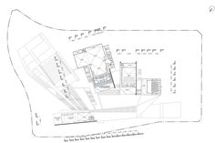 Image 1 of 35 from gallery of Sejong Art Center Competition Entry / H Architecture + Haeahn Architecture. Courtesy of H Architecture + Haeahn Architecture Draw Diagram, Architecture Images, Concept Architecture, Theatre Design, Site Plans, Cultural Center, Concert Hall, Competition, Floor Plans