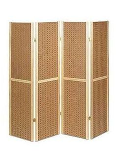 4 Panel Pegboard Display: Vendor Booth or Retail Sales for #vendorbooth #ecommerce at DustyJunk.com