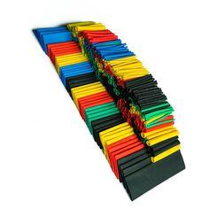 328PCS Colorful Assorted Heat Shrink Tube 5 Colors 8 Sizes Tubing Wrap Sleeve Set Combo