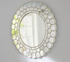 Shop circle blossom mirror from Pottery Barn Kids. Find expertly crafted kids and baby furniture, decor and accessories, including a variety of circle blossom mirror. Kids Mirrors, Round Mirrors, Pottery Barn Kids, Nursery Mirror, Little Girl Rooms, My New Room, Girl Nursery, Nursery Room, Arts And Crafts