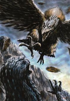 Giant Condor vs. Godzilla