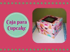 En esta ocasión realizo una caja para cupcake, ideal para hacer un regalo. Mi blog: http://elrincondeatir.blogspot.com.es/