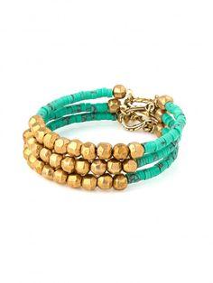 Getaway Bracelets - Gold- Bracelets | Vanessa Mooney Jewelry