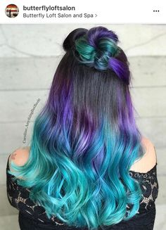 Hair, turquoise hair ombre, dyed hair pastel, teal hair, brown hair o Blond Pastel, Pastel Ombre, Blonde Dye, Brunette Ombre, Dyed Hair Pastel, Brunette Color, Purple Brown Hair, Teal Hair, Brown Hair Colors