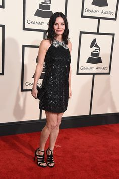 Courtney Cox in Marc Jacobs