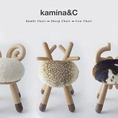 Kamina&C et ses petites chaises   Poligom