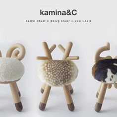 Kamina&C et ses petites chaises | Poligom