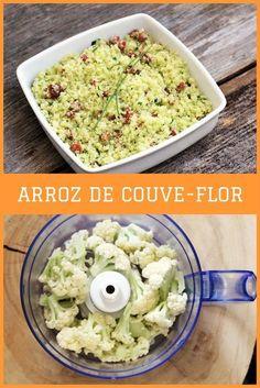 Prepare essa receita leve e muito saborosa para acompanhar as suas refeições. O arroz de couve-flor é fácil de fazer e vai conquistar você.