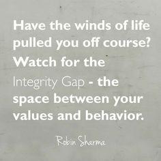 Integrity Gap - Robin Sharma