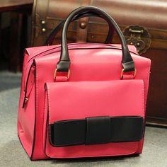 (FL005081) 2012 Female Packet/ New Arrival Box-type Bowknot Bag/ Squares Retro Handbag