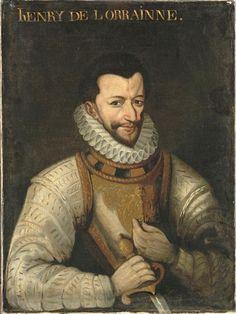 Henri Ier de Lorraine, 3ème duc de Guise en 1566, dit le Balafré, chef de la Ligue (1550-1588). .. Early 17th c.