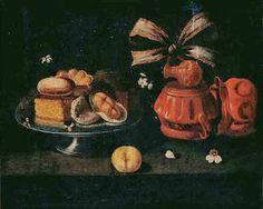 Josefa de Óbidos, Natureza morta com doces e frutos (Paço dos Duques, Guimarães)