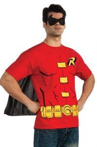 Help Batman save Gotham City in our Robin Costume Kit! Our Robin Costume Kit features a Robin graphic t-shirt, a black cape and a black eye mask. T Shirt Costumes, Cool Costumes, Robin Costume, Black Cape, Casual Street Style, Printed Tees, Mens Suits, Leather Jacket, Mens Tops