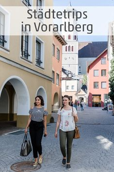 Kleine historische Stadt sterreichs - Alpenregion Bludenz