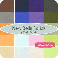 New Bella Solids Fat Quarter Bundle 9900AB-25