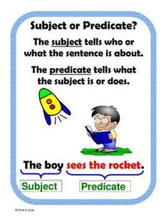 Subject or Predicate Center Activity for small groups or independent literacy station work during guided reading. Students read a sentence then det. Special Education Activities, Kids Learning Activities, Educational Activities, Teaching Ideas, Teaching English Grammar, English Writing Skills, Student Reading, Guided Reading, Incomplete Sentences