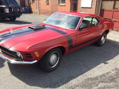 1970 MUSTANG BOSS 302 REAL DEAL G CODE SHAKER MATCHING NUMBERS