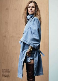 Vogue Australia does denim.