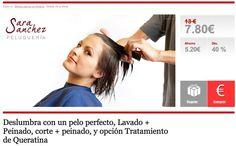 Deslumbra con un pelo perfecto, Lavado + Peinado, corte + peinado, y opción Tratamiento de Queratina en Almeria
