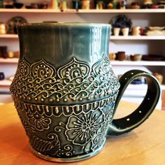 Henna Design Mug