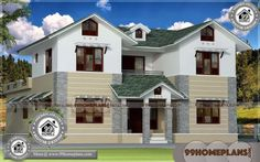 New House Ideas Designs Double Storey Homes Plans Selected Idea Home Design Images, House Design Pictures, Interior Design Pictures, New Home Designs, Design Ideas, Indian House Plans, New House Plans, Small House Plans, Bedroom Designs India