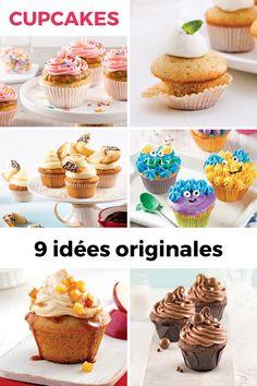 Amateur de cupcakes? Jetez un œil à nos idées: vous ne ferez qu'une bouchée de ces desserts tant appréciés! Cupcakes, Desserts, Apple, Snacks, Sugar, Tailgate Desserts, Cupcake Cakes, Deserts, Postres