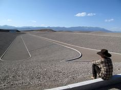 """Michael Heizer at the site of """"City."""" Michael Heizer's Big Work and Long View - The New York Times New York Times, Institutional Critique, City Works, Appropriation Art, Richard Long, Nevada Desert, Ancient Buildings, Easter Island, Giza"""