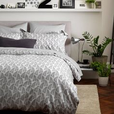 fern pattern bedding set