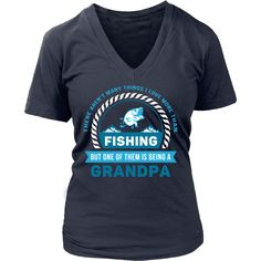 There aren't many things I love more than Fishing, but one of them is being a Grandpa T-shirt