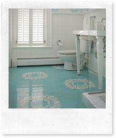 Google Image Result for http://inspiredbysaturday.com/Portals/0/BLOG%2520Posts/Design%2520Trends%2520I%2520Hope%2520Die%2520Soon/painted-wood-floor.jpg