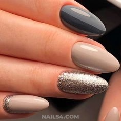 beautiful nails Top Fall 2018 Nail Trends / Wonderful And Ceremonial American Gel Nails Ideas Nagellack Design, Nagellack Trends, Fall Nail Designs, Cute Nail Designs, Cute Nails, Pretty Nails, Hair And Nails, My Nails, Fall Nails