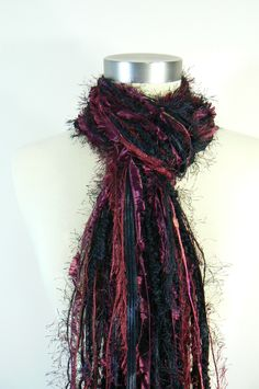 University of South Carolina Gamecocks - Football Scarves College Scarf - University of South Carolina Gamecocks - Garnet and Black. $29.95, via Etsy.