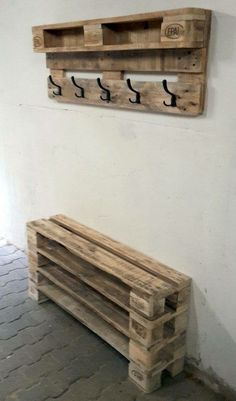 45 DIY Project Garage Storage And Organization Use A Pallet Diy Pallet Projects DIY Garage Organization Pallet Project Storage Diy Projects Garage, Wooden Pallet Projects, Diy Pallet Furniture, Wooden Pallets, Home Projects, Palette Furniture, Furniture Ideas, Diy With Pallets, Recycled Pallets