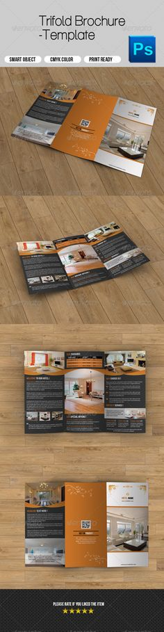 Hotel Business Trifold Brochure - Corporate Brochures