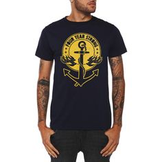 Four Year Strong Into The Sea T-Shirt | Hot Topic ($9.98)