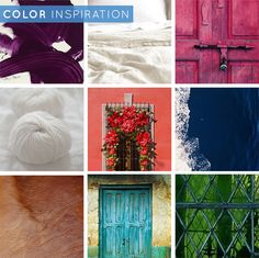 This is cool. How Emily Henderson shows her clients their color palette! Epson_Emily Henderson_color inspiration