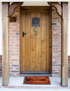1000 images about wooden front doors on pinterest for Wooden house front doors