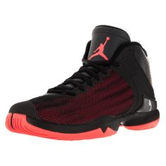 Nike Jordan Men\u0027s Jordan Super.Fly 4 Po Black/Infrared 23/Anthracite  Basketball Shoe by Jordan