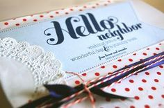 Gifts for Friends & Neighbors