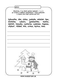 Pracovné listy zo slovenského jazyka pre druhákov David, Education, Logos, Fotografia, Educational Illustrations, Learning, Logo, Studying