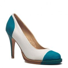 If you can't show your toes...Wear Teal Heels -