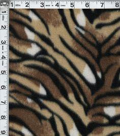 Blizzard Fleece Prints-Tiger