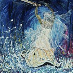 Daughter of the most High God.  art by Jennifer Jones
