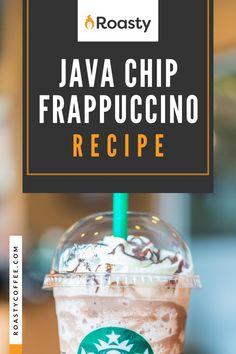 Try out this homemade java chip frappuccino! Doesn't everything taste better homemade anyway? If you're looking to treat yourself, or you're really just craving this Starbucks order, give this recipe a go! FYI- If you like coffee and chocolate, you probably already have the ingredients in your cabinet! Frappuccino Recipe, Starbucks Frappuccino, Coffee Ideas, Great Coffee, Coffee Creamer Recipe, How To Order Starbucks, Homemade Syrup, Chocolate Syrup, Blended Coffee