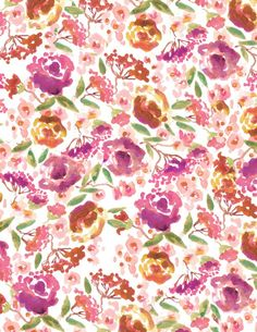 """Antiquaria - """"Lucy"""" Floral Patterned Paper, 10 pack, $12.95 (http://www.shopantiquaria.com/lucy-floral-patterned-paper-10-pack/)"""