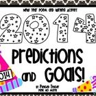"""This 2014 New Year's resource includes: 2014 """"What is a Resolution"""" Poem 2014 Predictions Writing Template 2014 Goals Writing Template 2014 Resolut..."""