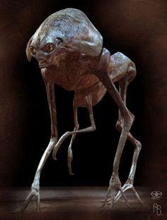 Alien Explorations: Origins of Carlos Huante's Babyhead
