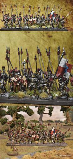 Alcatani Fellowship, Dogs of war, Warhammer Fantasy. Painted by Asdarel